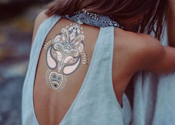 Флеш тату Shimmer (Metallic Jewelry tattoos)