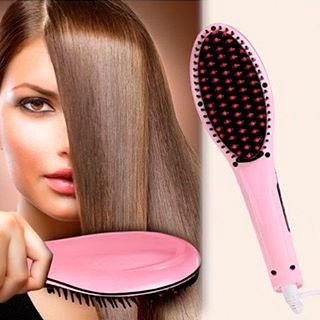 расческа для выпрямления волос фаст хаир