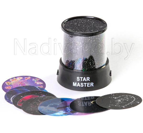 Ночник проектор звездного неба Star Master 8 в 1 (адаптер в комплекте)