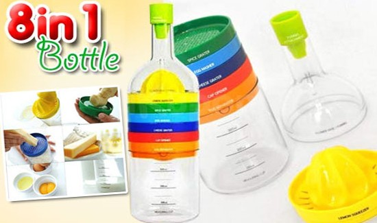 Бутылка-терка 8 в 1