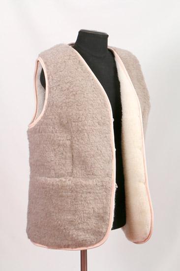 женский жилет из меха