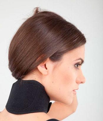 турмалиновый аппликатор с магнитными вставками для шеи