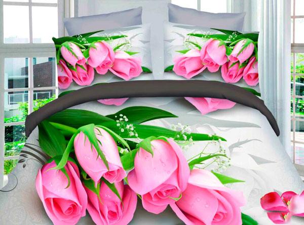 постельное белье с 3D эффектом