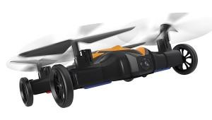Квадрокоптер-автомобиль