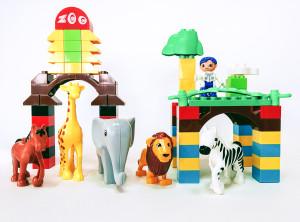Конструктор серии Блокс «Зоопарк»
