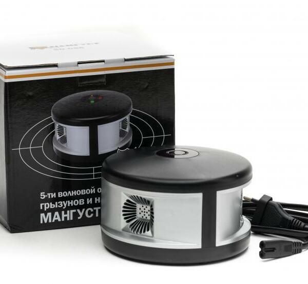 Пятиволновой анионный отпугиватель грызунов Мангуст SD-058