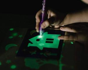 Планшет для рисования светом