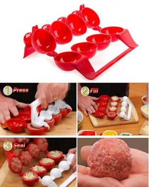 Прибор для тефтелей Mighty Meatballs (Майти Митболс)