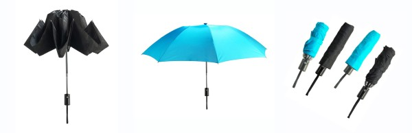Реверсивный зонт