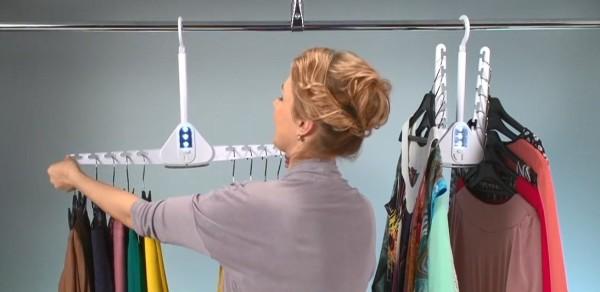 Система хранения вещей Dual Hanger (Дуал Хэнгер) 2 шт.