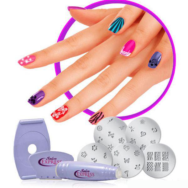 Набор для дизайна ногтей Salon Express