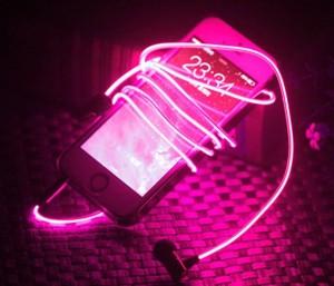 Светящиеся наушники LED