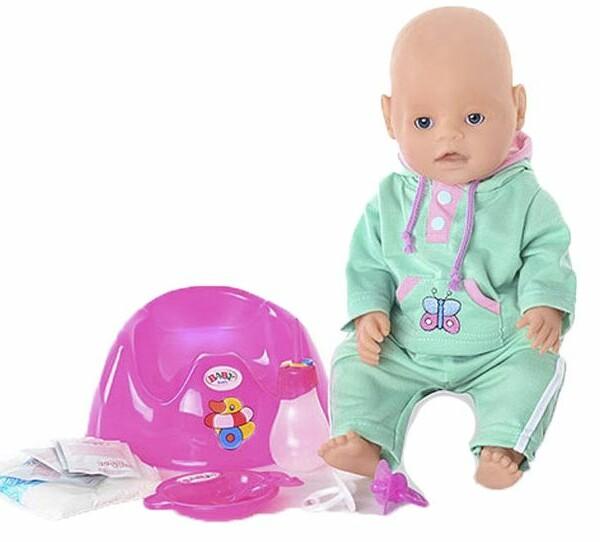 Интерактивный пупс Бэби Долл Baby Doll с аксессуарами