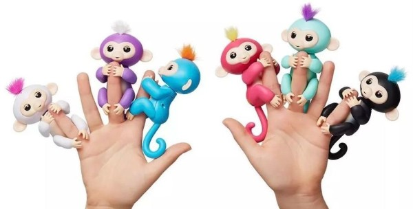 Интерактивная обезьянка Фингерлингс (Прилипунцель, Фингер Манки)