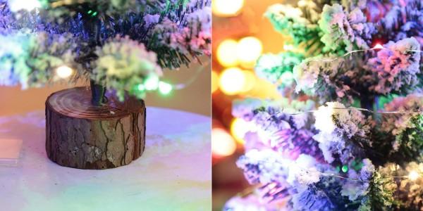 Настольная искусственная елка