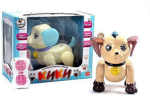 Интерактивная игрушка робот-щенок «Кики»