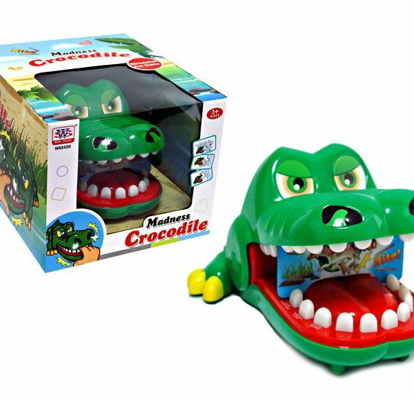 Игрушка Крокодил Кусака