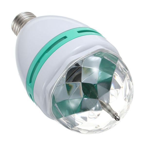 Вращающаяся светодиодная диско лампа