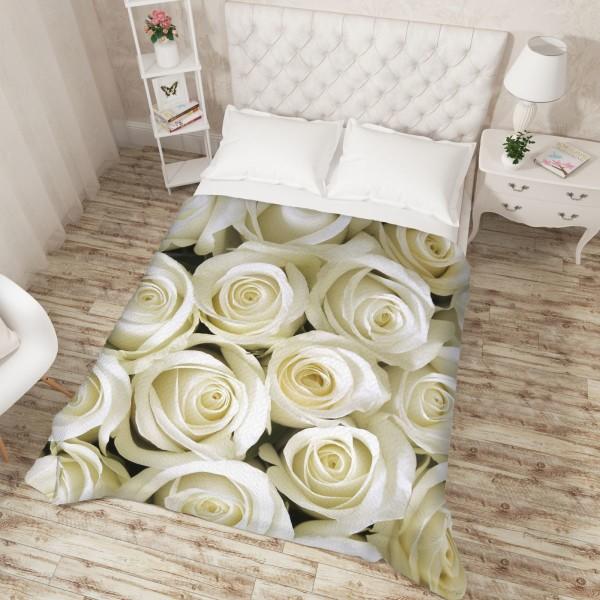 Покрывало «Душистые розы» - Евро 200х220
