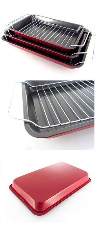 Набор форм для запекания с решеткой-гриль