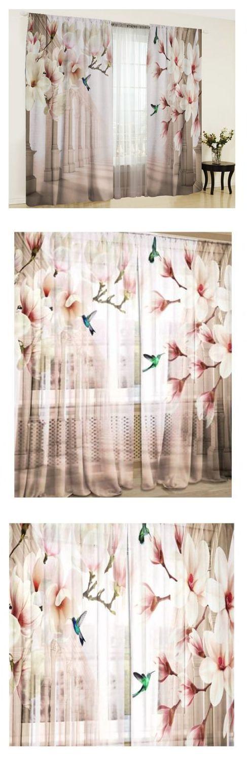 Фотошторы цветочные мечты